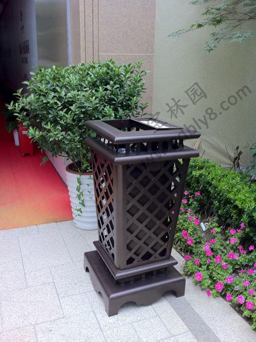BB1-001全钢单桶垃圾桶