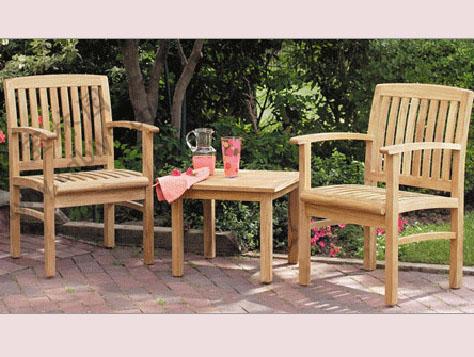 BC1-021全木组合椅