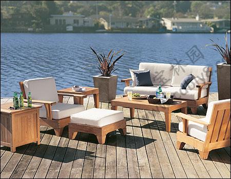 BC1-027全木组合椅