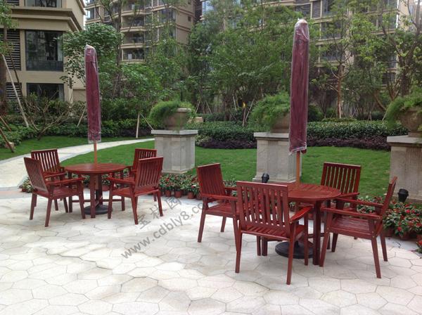 BC1-001全木组合椅
