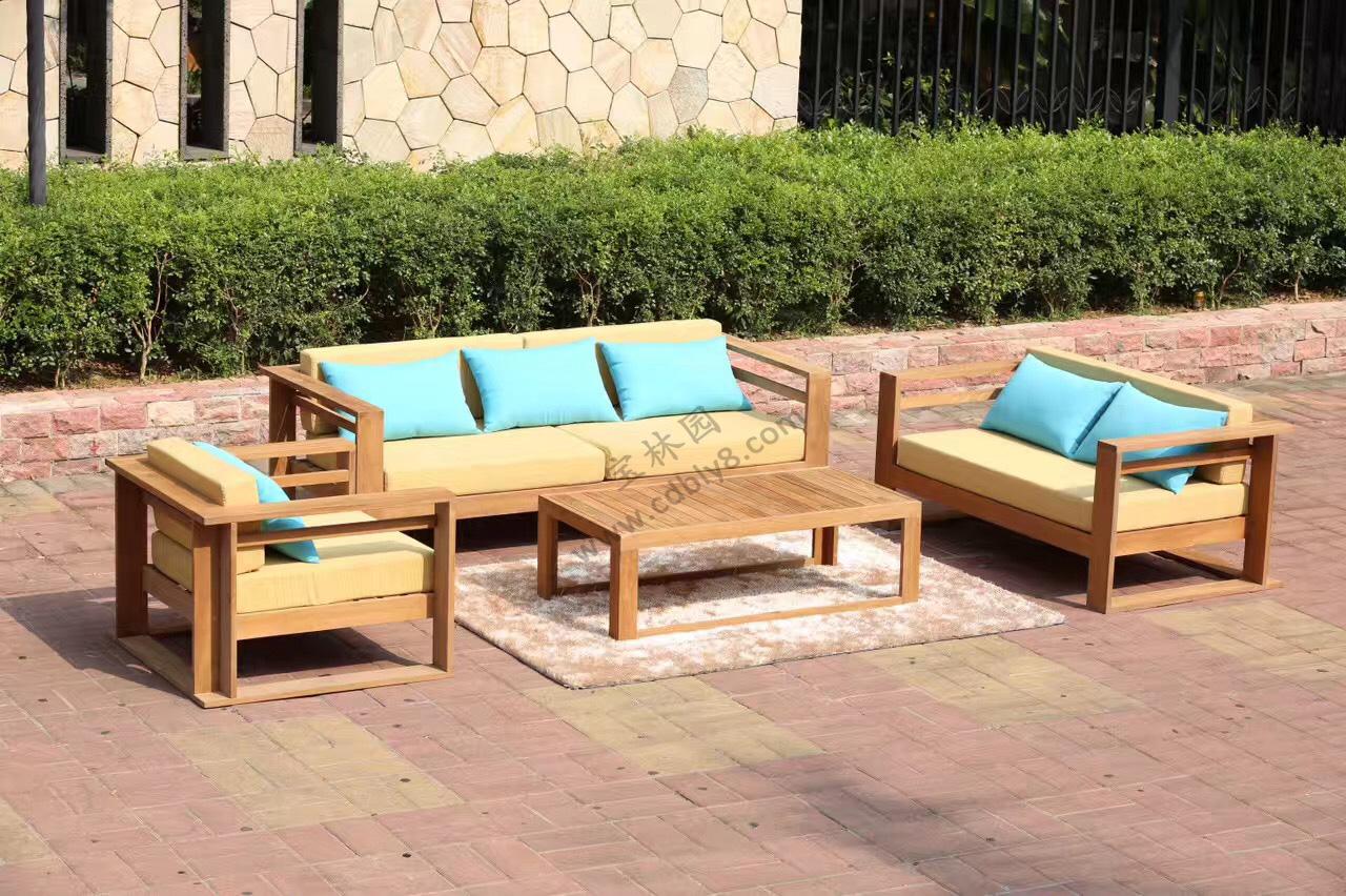 BC1-037全木组合椅