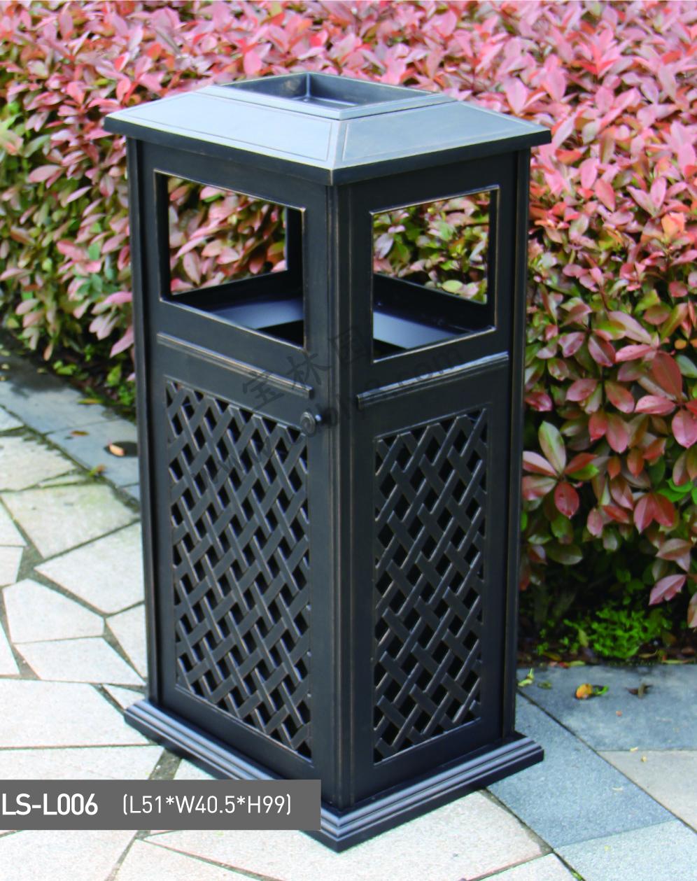 BB1-036全钢单桶垃圾桶