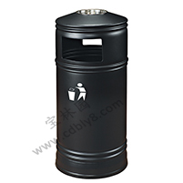 BB1-067全钢单桶垃圾桶