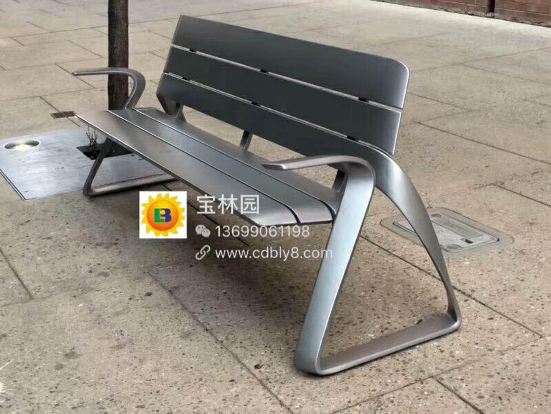 全钢休闲椅